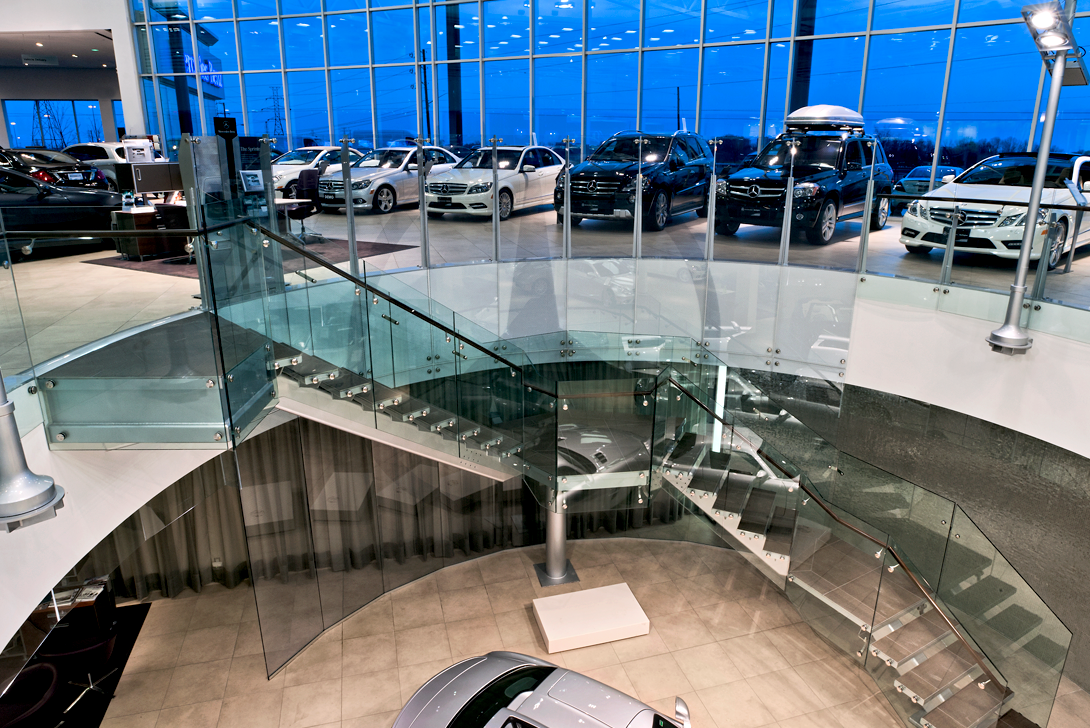 View of Lower level at Mercedes-benz Burlington